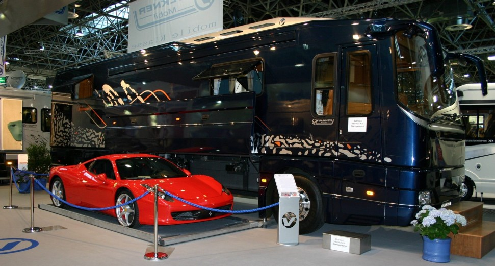 Top Gear Rv With Sports Car