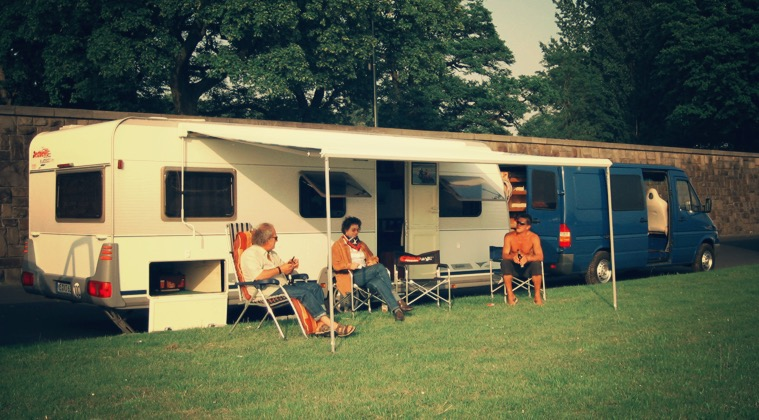 Campergespräche Mike Wohnwagengespann