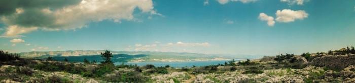 Kroatien - Krk Landschaft
