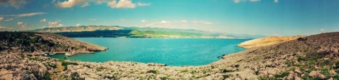 Kroatien - Krk Panorama