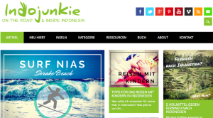 www.indojunkie.com - Blog über Indonesien, seine Menschen, seine Kultur, die schönsten Ecken, die besten Tauch- und Surfspots und wichtige Reisetipps.