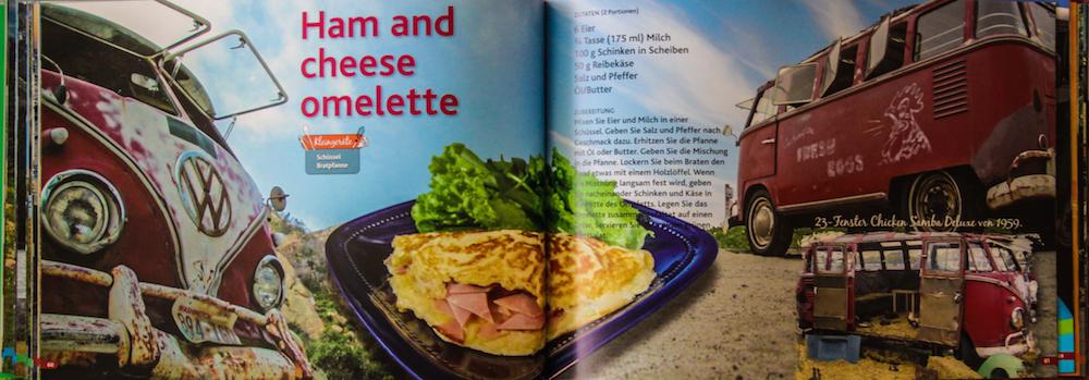 VW-Bulli Kochbuch Omelette
