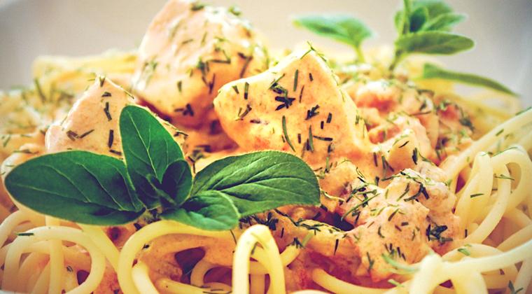 Lachs Spaghetti Instant
