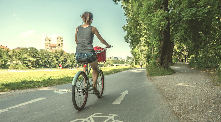 Muenchen Radtour Fim