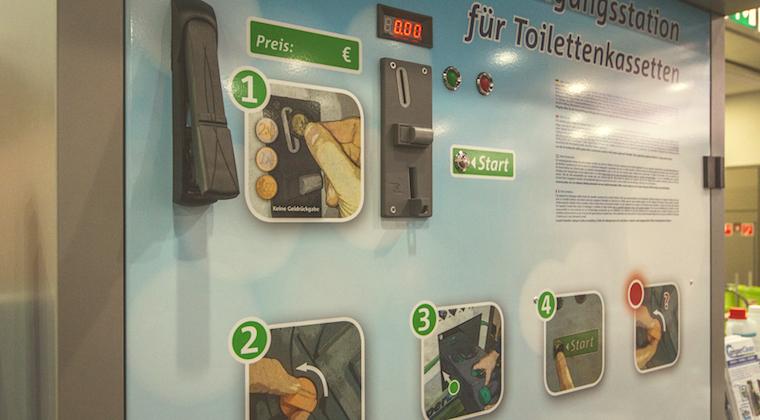 Campingtoilette Leeren – Mit Neuartiger Entsorgungsstation (fast) Ein Vergnügen!