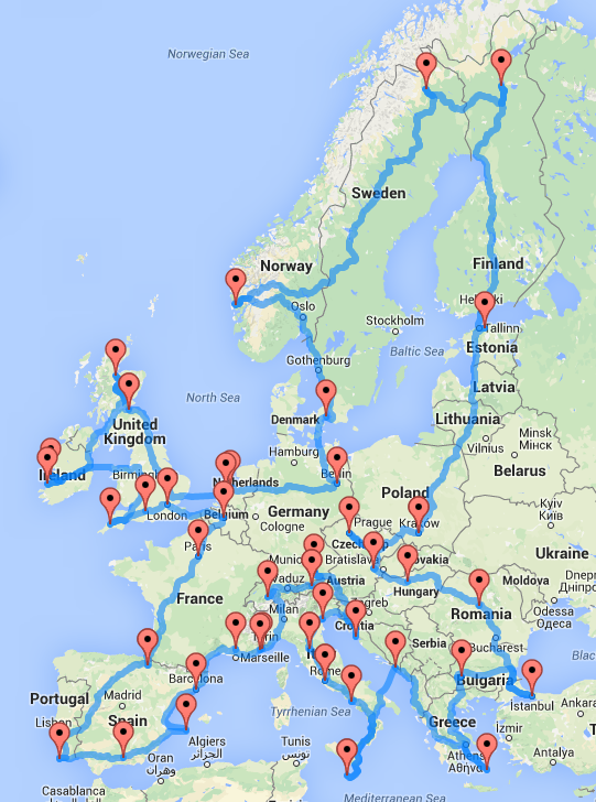 europe-optimal-road-trip