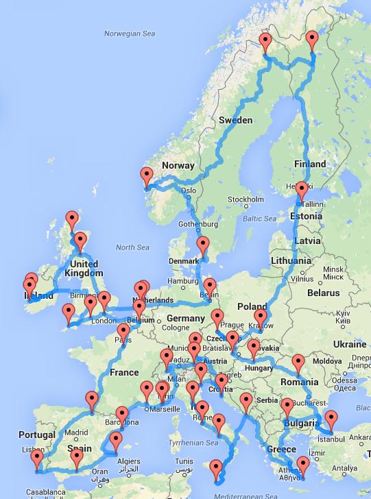 europe-optimal-road-trip