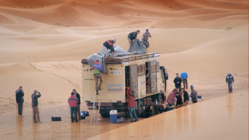 Gruppen-Abenteuerreise Im Dachzeltbus