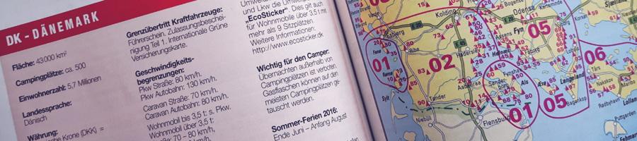 ECC-Campingführer Camping + Caravaning Europa