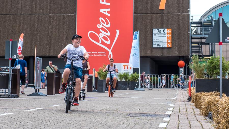 Caravan Salon E-Bike Parcours