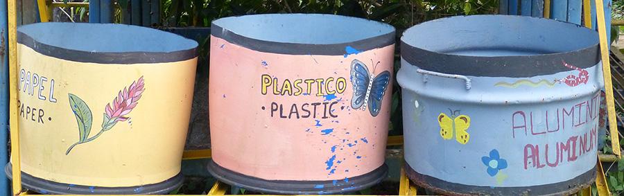 Abfalltrennung und -vermeidung