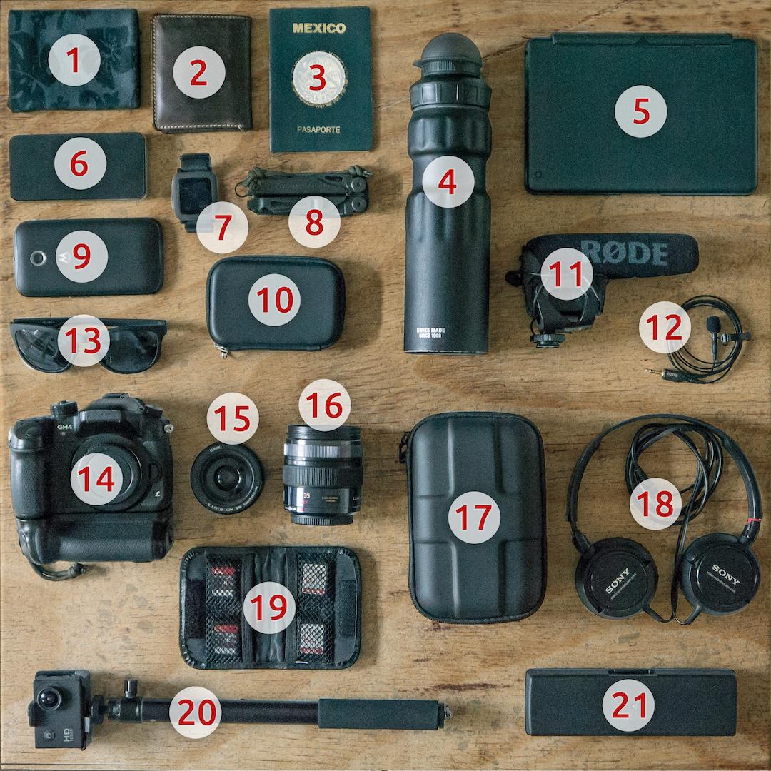Ausrüstung Messe Foto Video