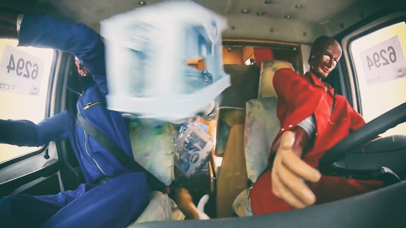 Womo Crashtest Ladung Überladung