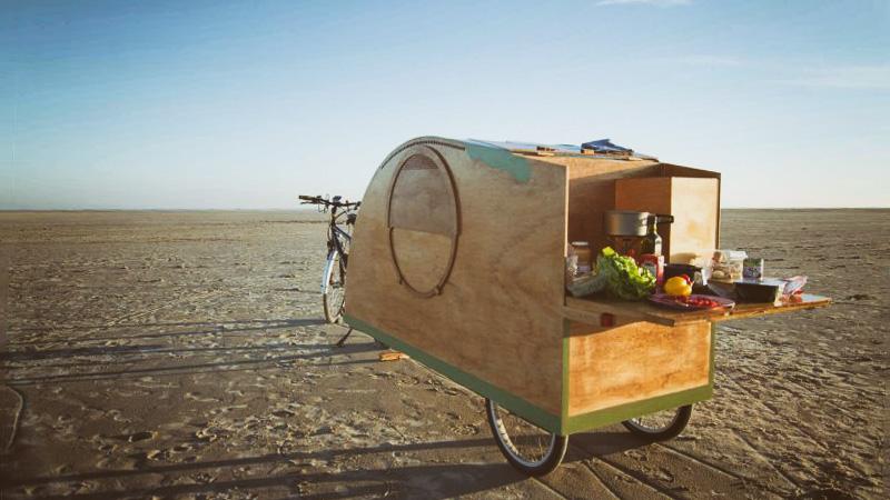 Fimg Fahrradwohnwagen
