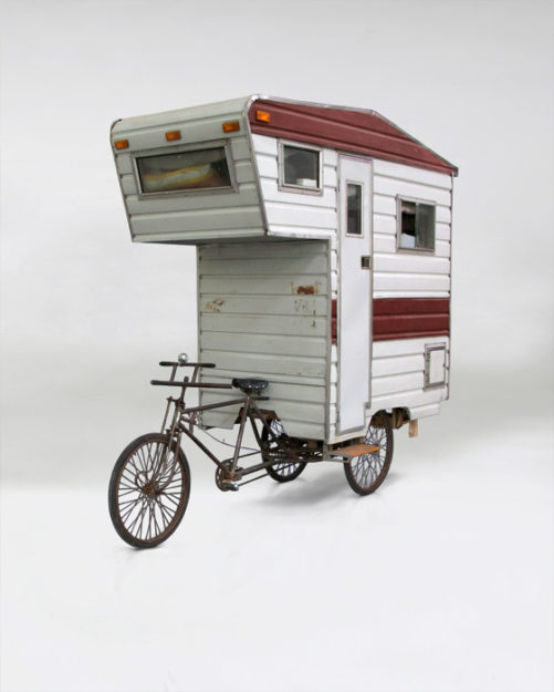 bike camper die sch nsten mini mobile homes f r fahrradnomaden. Black Bedroom Furniture Sets. Home Design Ideas
