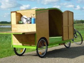 bike camper die sch nsten mini mobile homes f r. Black Bedroom Furniture Sets. Home Design Ideas