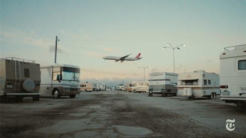 Flughafen Los Angeles: Eigener Camping-Parkplatz Für Mitarbeiter!