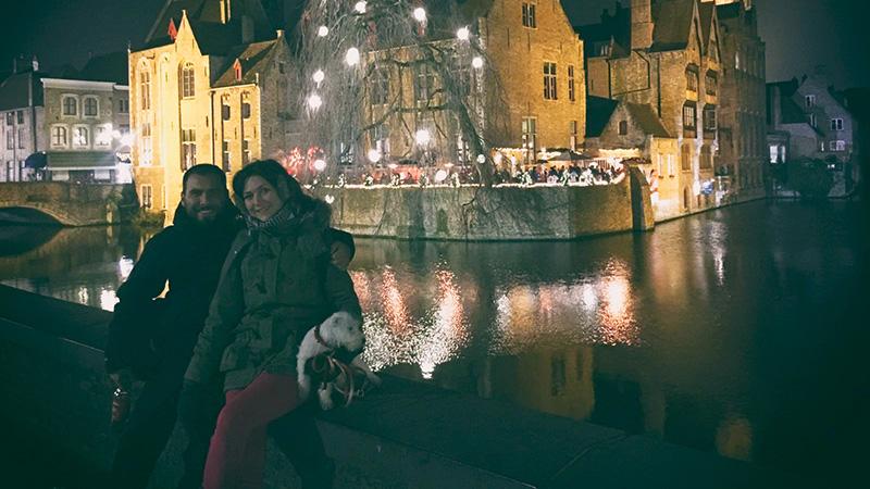 Happy New Year - Die Landeros in Brügge