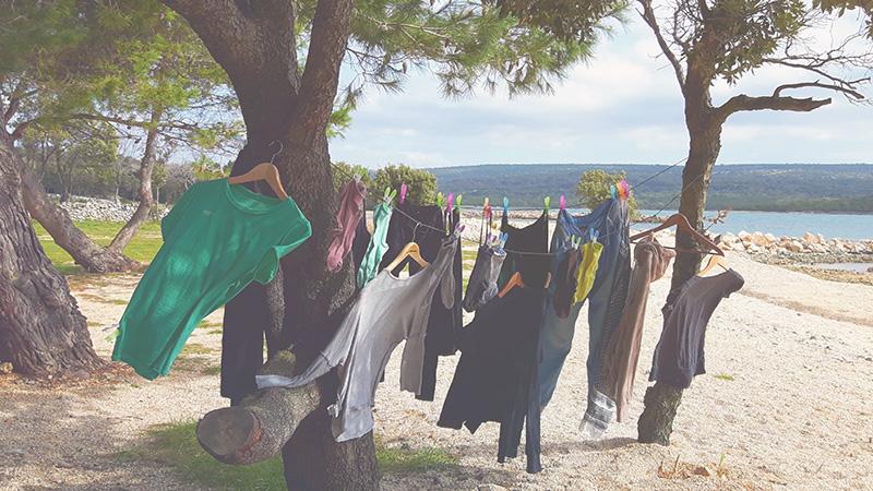 Wäsche unterwegs waschen - Handwaschmaschinen