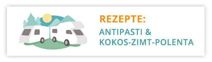 Rezepte Antipasti Kokos-Zimt-Polenta