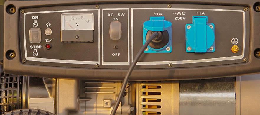 Festival Camping-Regeln - Stromgenerator Notstromaggregat