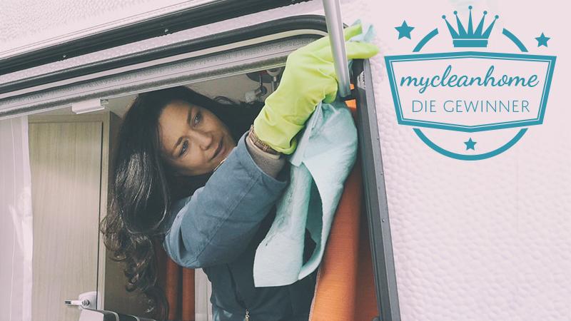 Gewinnspiel mycleanhome - Wohnwagen putzen