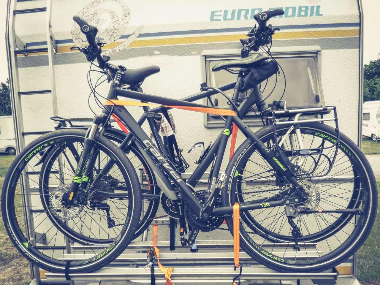 Fahrradträger Heck Wohnmobil
