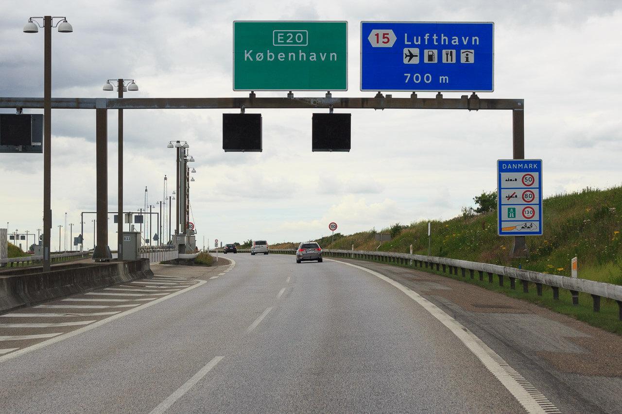 dänemark geschwindigkeit autobahn