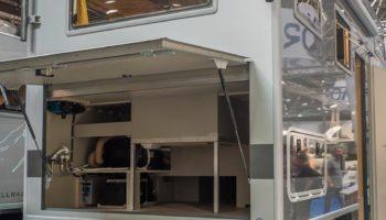 Bimobil Caravan Salon Düsseldorf 2017 Laderaum