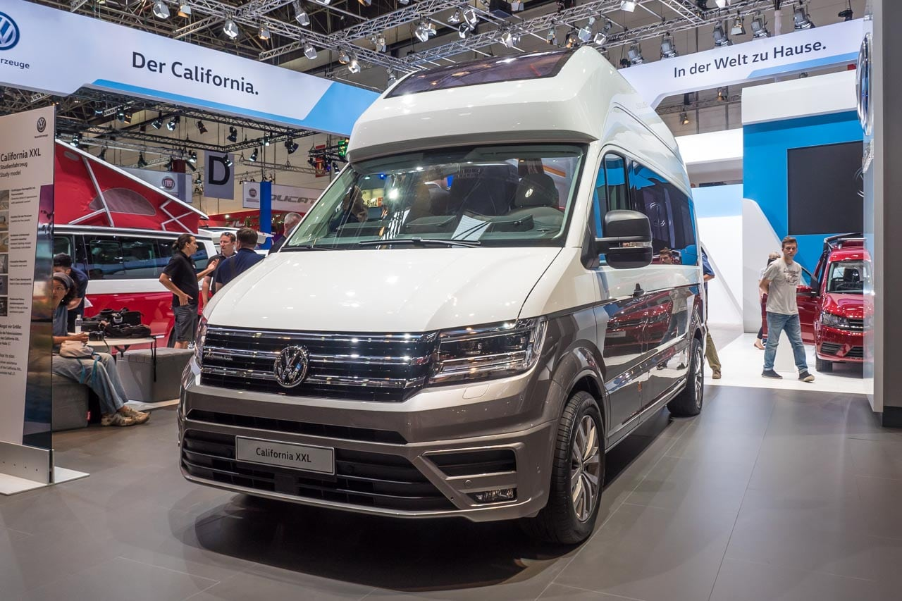 Messeneuheit: VW California XXL Auf Crafter-Basis
