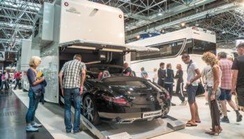 Vario mobil mit Cabrio Caravan Salon Düsseldorf 2017