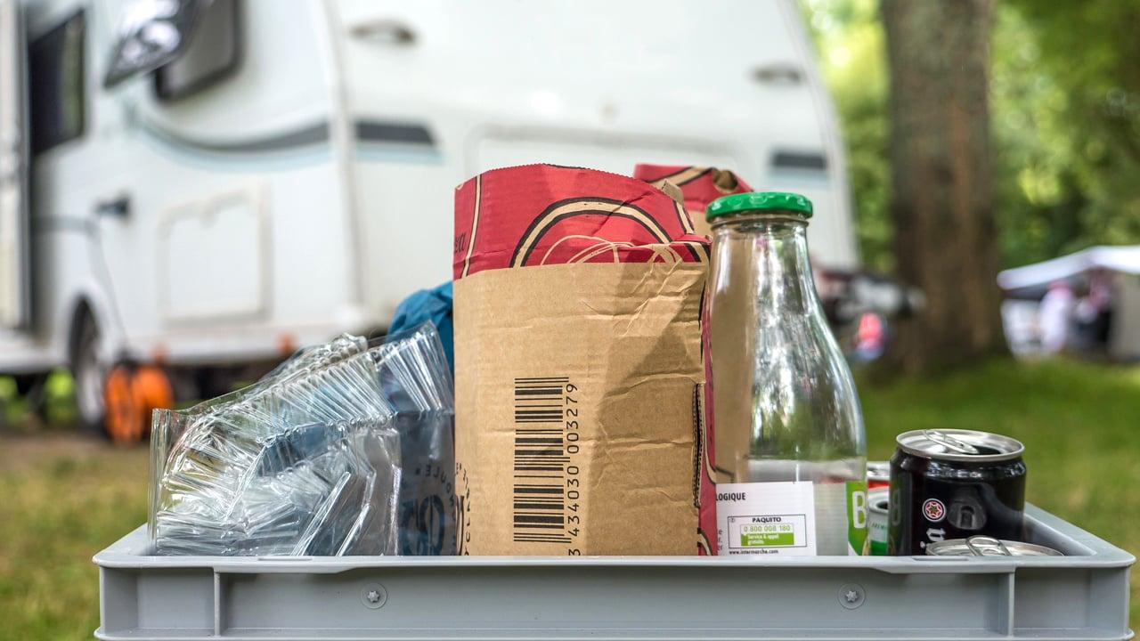 Mülltrennung in Wohnwagen und Wohnmobil - keine leichte Aufgabe!