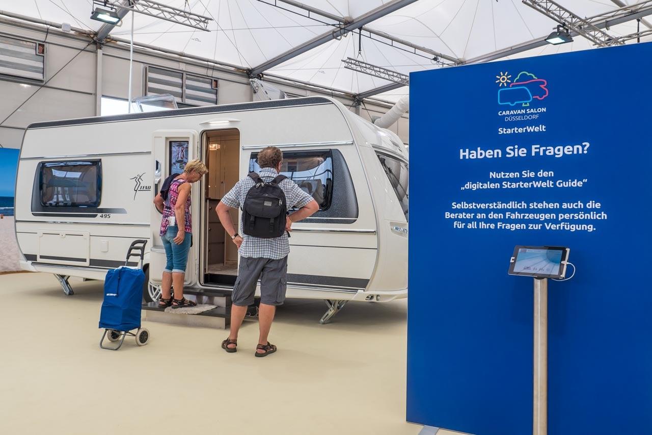 StarterWelt Caravan Salon Düsseldorf 2017