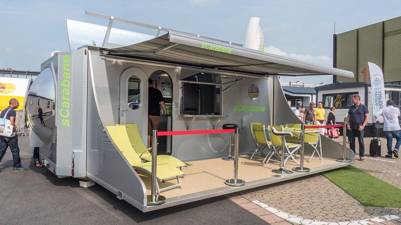 sCarabane Caravan Salon Düsseldorf 2017 Mobilheim