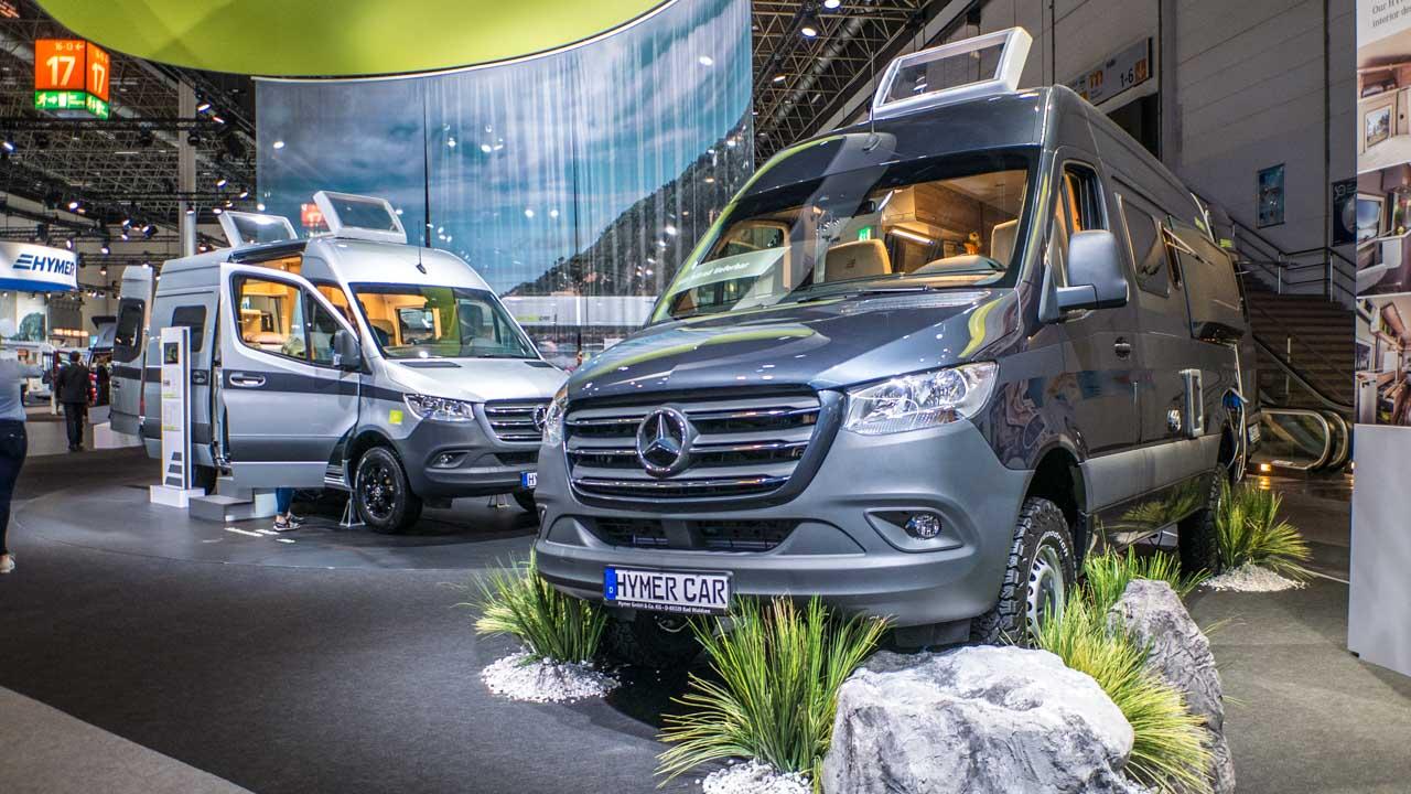 Allrad und Offroad - die Messetrends vom Caravan Salon 10 Düsseldorf