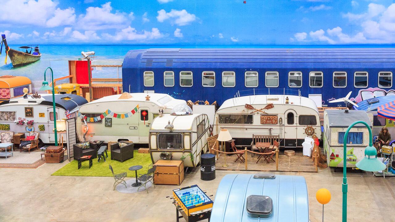 BaseCamp Bonn – Der Indoor-Campingplatz