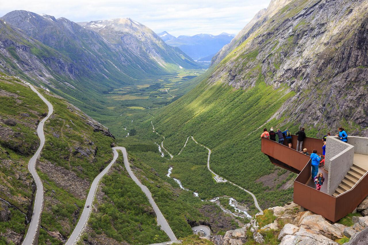 trollstigen mit dem wohnmobil tipps zum fahren in norwegen. Black Bedroom Furniture Sets. Home Design Ideas