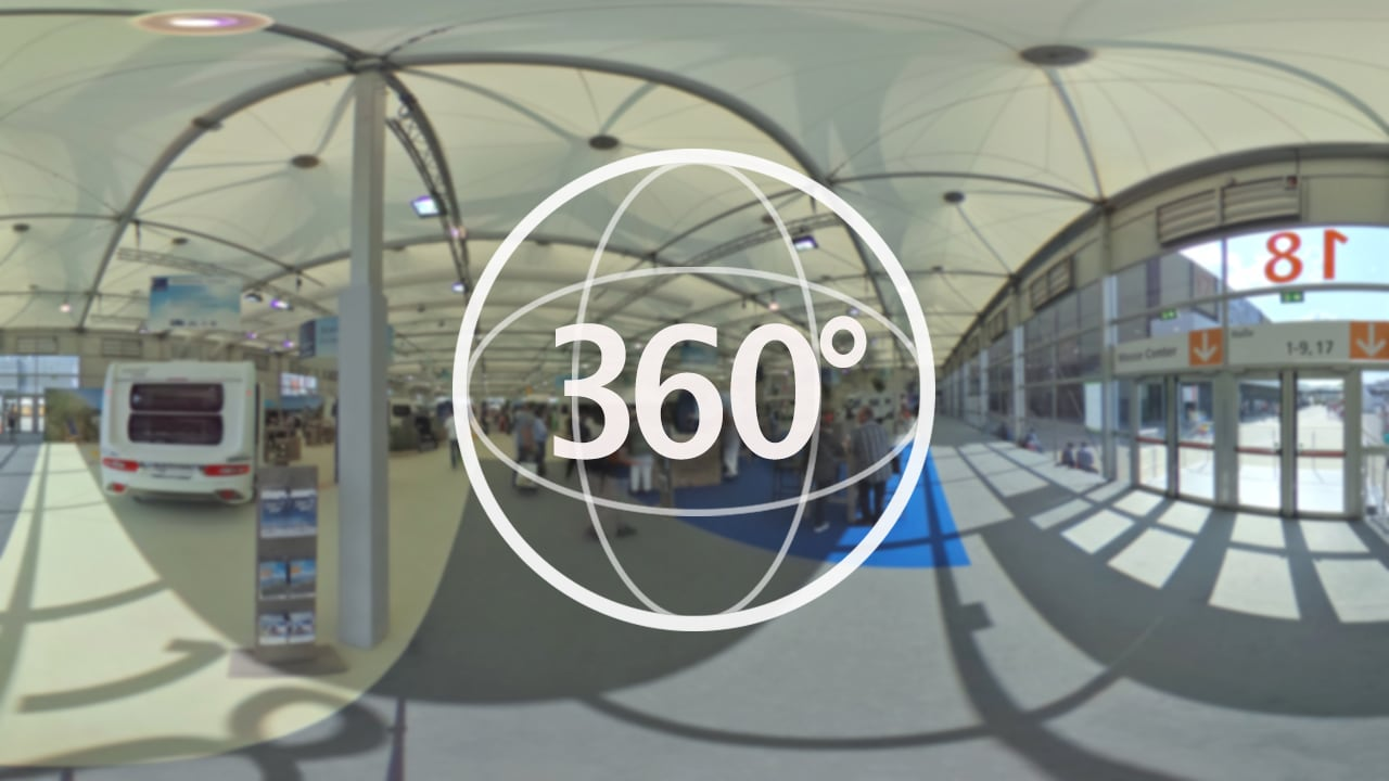 Caravan Salon Düsseldorf 2017 In 360 Grad