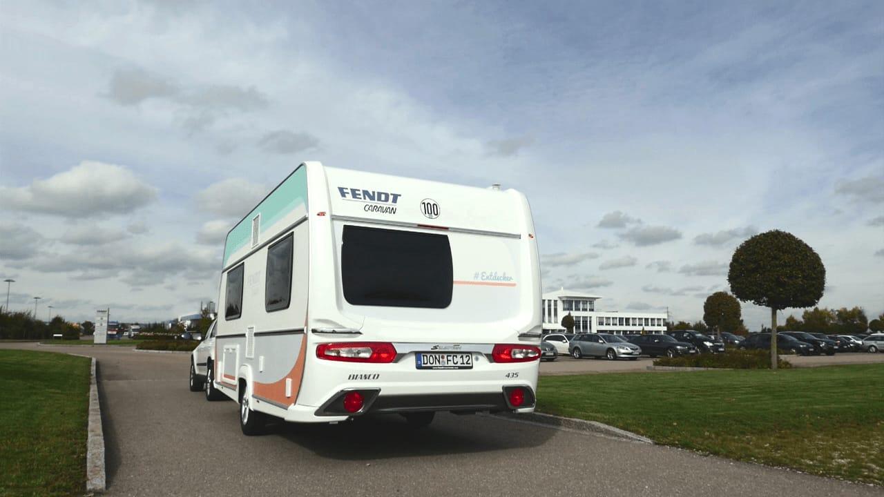Fendt-Caravan Wohnwagen-Übergabe