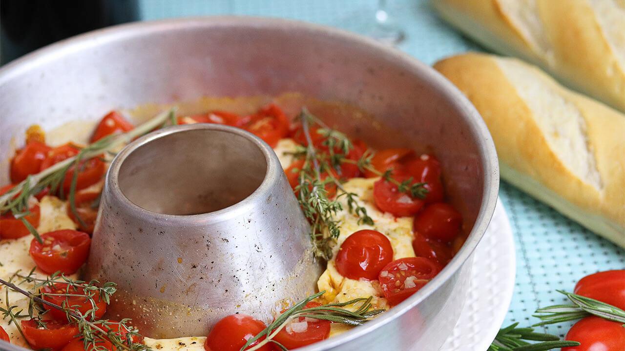 Schafskaese und Tomaten im Omnia Lieblingsrezepte