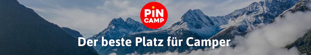 Pincamp: Im Internet Campingplätze suchen und reservieren