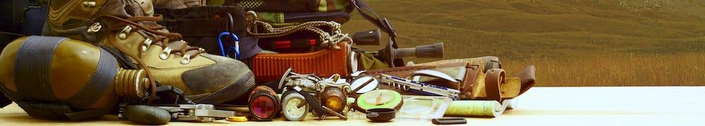 Welche Ausrüstung muss mit auf den Campingtrip?