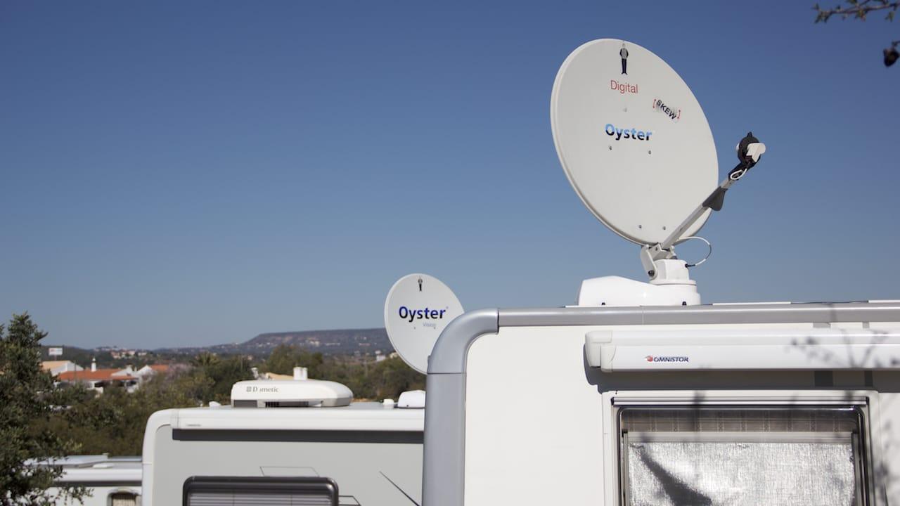 Die passende Satellitenanlage für Wohnmobil und Wohnwagen finden