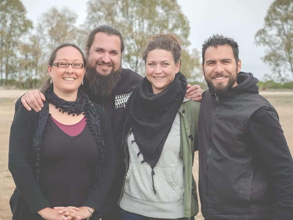Stefanie, Sebastian, Nele & Jalil von CamperStyle