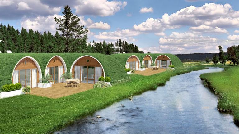 Green Magic Homes: Leben Unter Einem Dach Aus Blumen