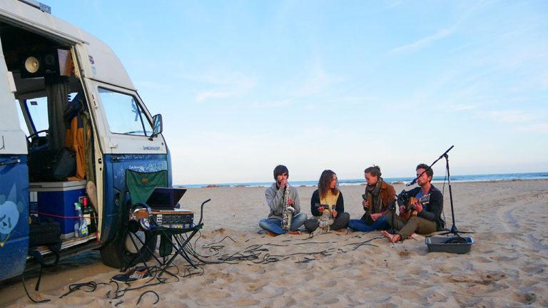 Smells Like Van Spirit: Europas Musik Und Ein Tonstudio Auf Rädern