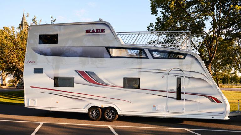 Caravan Mit Ausblick: KABE Tower Ist Größter Wohnwagen Der Welt