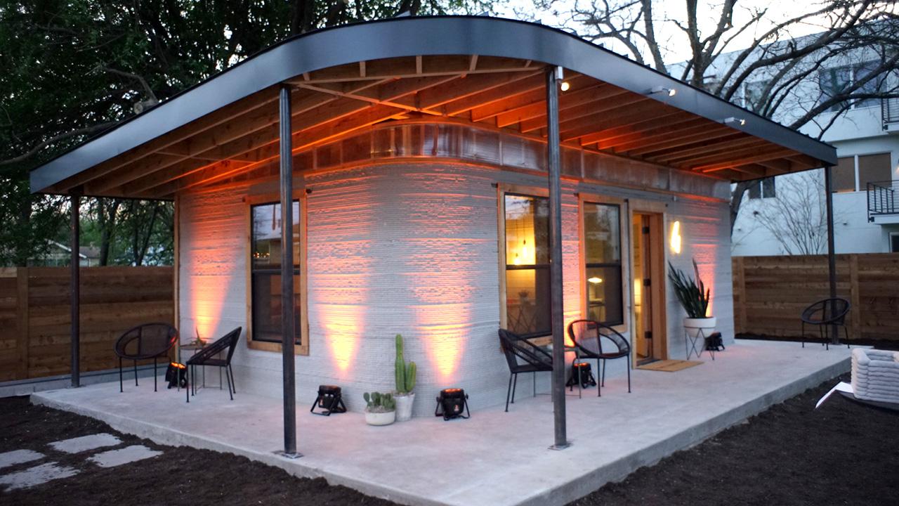 Heimat Zum Download: Mit Ausgedruckten Tiny Houses Gegen Armut