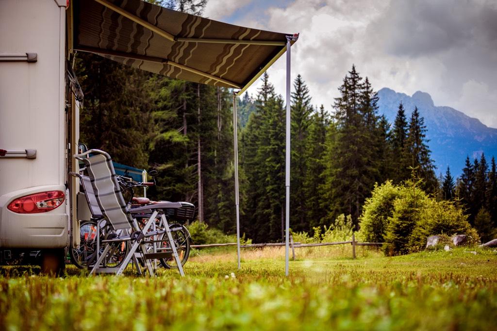 Wild Camping in Italien