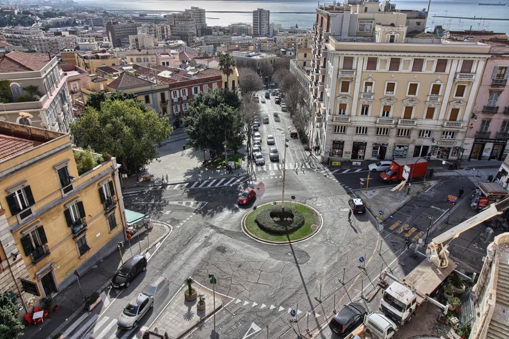 Kreisverkehr in Italien